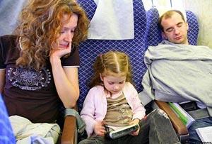 Если ребенок путешествует с родителями во Францию