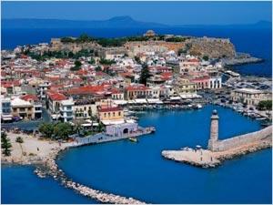Ретимно - курорт Зарадного Крита с песчаными пляжами