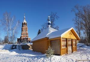 Приезжайте на «Кудыкину гору» Липецкой области зимой