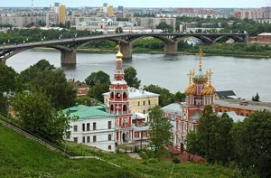 Тур на теплоходе по волге в Нижний Новгород