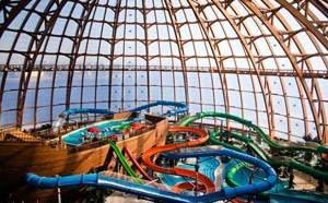 Один из самых больших аквапарков - Питерленд