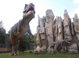 В Сафари-парке в Краснодаре можно встретить динозавров