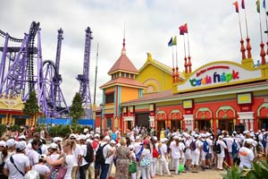 Открытие русского Диснейленда в Сочи-парке