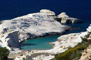 Сараконико - один из лучших песчаных пляжей Греции