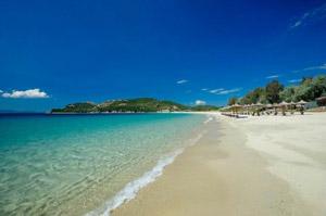 Отели в греции с песчаным пляжем фото