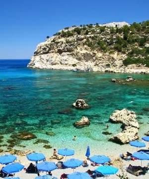 Остров Родос расположен в Средиземном море в Греции