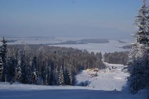 Горнолыжный комплекс Иван-гора расположился в непосредственной близости от города Пермь