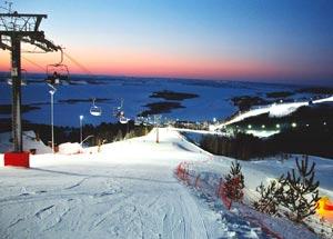 Горнолыжный комплекс Казань (в народе Свияга)— отлично место отдыха для опытных и начинающих лыжников