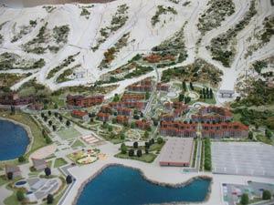 Новый туристический горнолыжныжный курорт Манжерок обещает стать одним из самых крупных курортов не только Алтая, но и всей Сибири