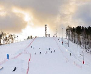 Горнолыжный центр «Райдер» в Челябинской области приглашает сменить обстановку и провести выходные среди сверкающего снега на склонах горы Садовая