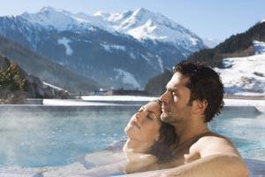 Бад-Гаштайн  - самый посещаемый курорт Европы благодаря своим термальным источникам и горнолыжным трассам