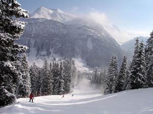 Горнолыжный курорт Лех - один из лучших курортов в Австрии