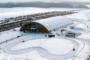Также на многих курортах Белоруссии имеются просторные катки для фигурного катания.