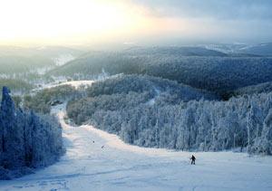 Челябинская область богата на горнолыжные курорты разнообразного масштаба