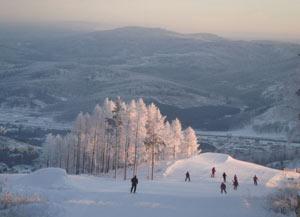 Большинство горнолыжных курортов Челябинской области расположены неподалеку от крупных городов