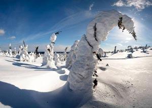 Горнолыжный сезон в Карелии длится весь холодный сезон с ноября по апрель