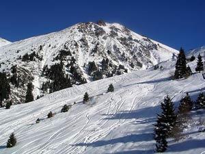 Своеобразными столицами горнолыжного спорта здесь стали города Алматы, Усть-Каменогорск, Караганда