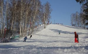 """Горнолыжный комплекс """"Ключи"""" — это центр активного зимнего отдыха, расположенный недалеко от Новосибирска"""