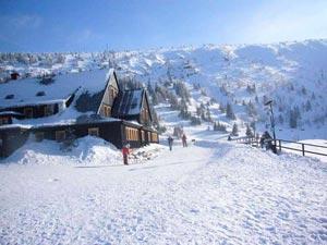 Горнолыжный курорт Карпач находится на склоне одной из самых высоких гор Карконош