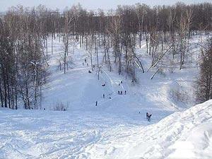 Горнолыжная база «Дербышки» находится непосредственно в Казани