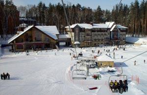 В горнолыжном курорте Ян в наличии 6 трасс для катания, разных по уровню сложности.