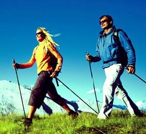 Узнайте, как правильно выбрать палки для скандинавской ходьбы