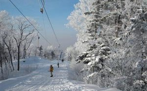 Горнолыжный курорт «Арсеньев» расположился на горе Обзорная