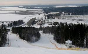 Курорт Чекерил расположился на одной из самых высоких точек Завьяловского района