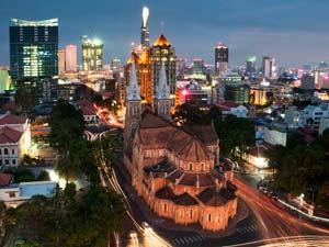 Хошимин – колоритный город на юге Вьетнама