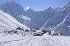 На Кавказе горнолыжные курорты располагаются повсюду