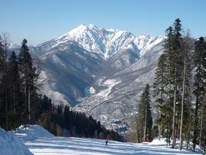 «Красная Поляна» - целый комплекс горнолыжных курортов
