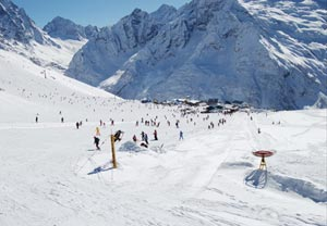 Южный и Северный Кавказ богат на разнообразные горнолыжные курорты