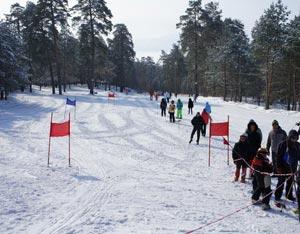 Горнолыжный комплекс Спин-Спорт – одно из самых популярных мест отдыха в Тольятти