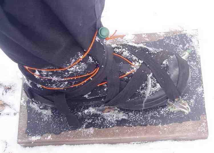 Снегоступы своими руками из фанеры фото