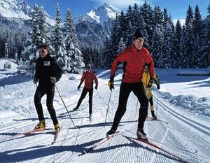 Как подобрать лыжи конькового хода