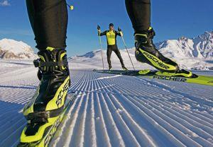 Узнайте, как установить крепления на беговые лыжи