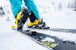 Виды креплений для беговых и горных лыж