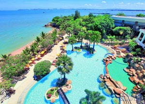 Рейтинг отелей Паттайи с собственным пляжем