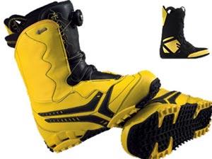 Очень важно правильно подобрать ботинки для сноуборда