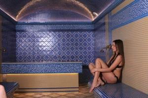 В стоимость билета входит пользование бассейном и сауной в Хвалынских термах