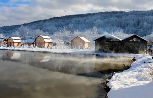 На территории Краснодарского края находятся минеральные и термальные источники