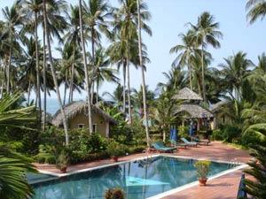 Уютный отель Little Muine Cottages 3*– один из лучших на пляже