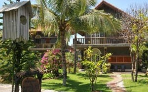 Территория отеля Muine Ocean Resort & Spa напоминает старинную усадьбу