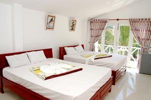 Гостям отеля Muine Paradise Beach Resort предлагается 35 номеров