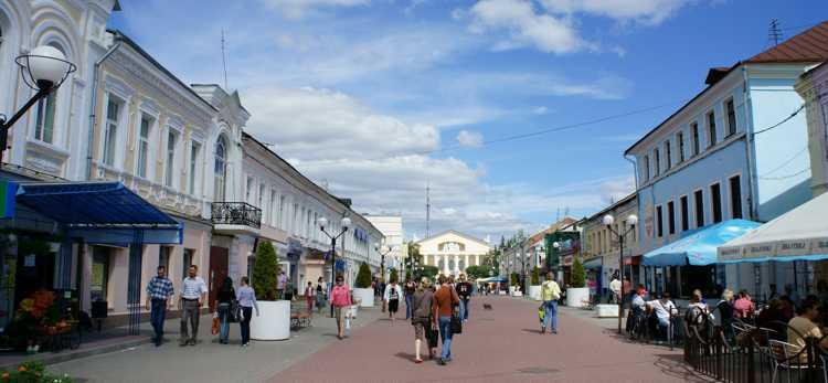 Прогулки по театральной улице Калуги