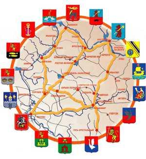 Лучшие достопримечательности городов Золотого кольца России