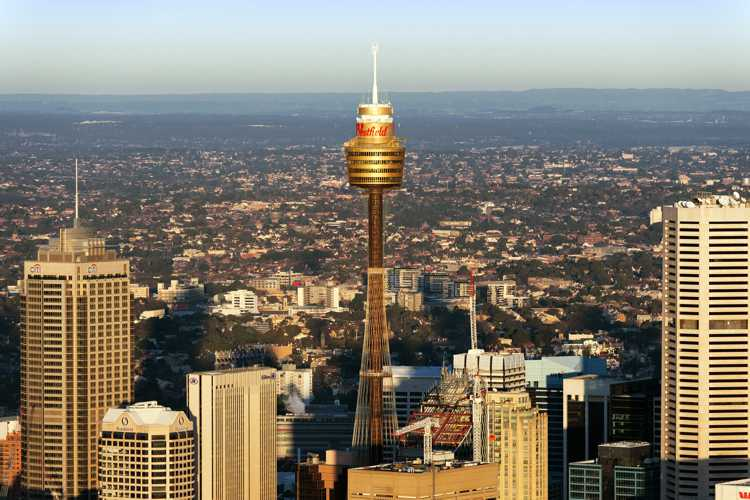 Телебашня Tower Eye в Сиднее