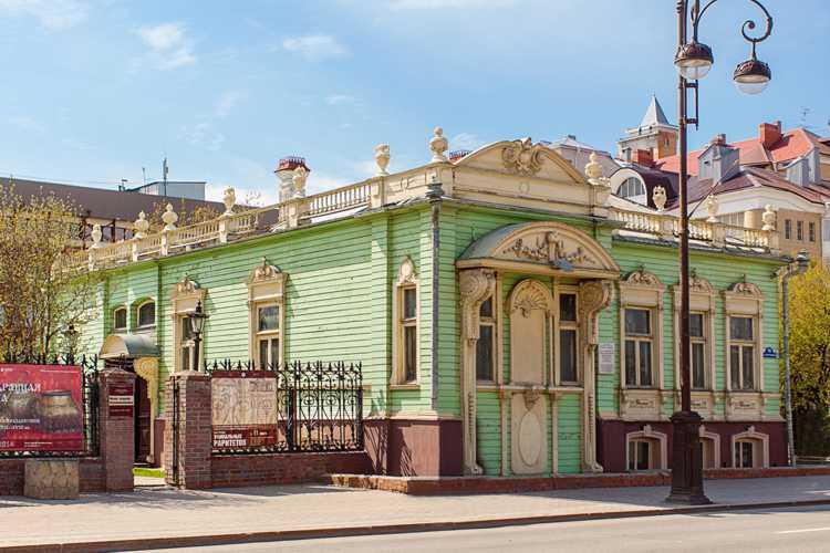 Архитектурные достопримечательности Тюмени