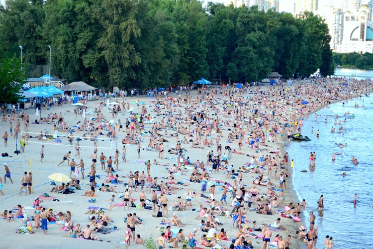 Гидропарк, Киев.