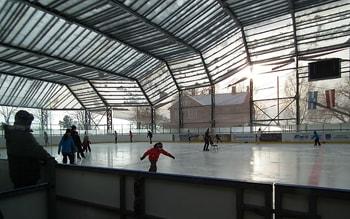 Ледовый холл в Юрмале.